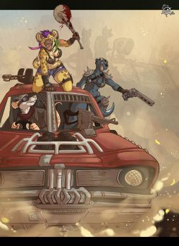 [Commission] Mad Max by x-Mlice