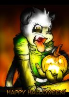 Happy Halloween,  BLEAHH by super-tuler