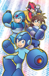 Megaman Memories by marcotte