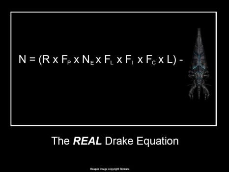 Drake Equation Deux Ex Machina by thelordofstorms
