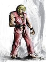VIOLENT KEN speed-paint by mansarali