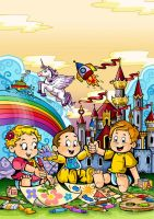 coloring book cover by Artist-in-Despair