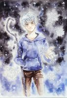 Jack Frost in the Snow by meodualeo