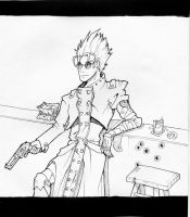 Vash the stampede by typhon-humanoid