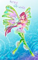 Winx season 5 Roxy Sirenix by fantazyme