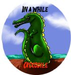 In a While Crocodile by Caium