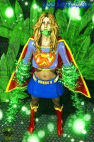 Super Girl in Peril by MitruComix