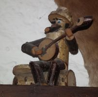 Wooden Musician 1 by Limited-Vision-Stock