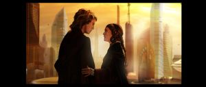 Anakin y Padme by turkill