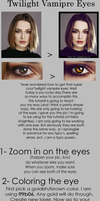 Twilight Vampire Eye Tutorial by xiggy01x