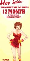 WIN A 12 MONTH MEMBERSHIP by nillia