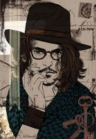 Johnny Depp by LioBeardsley