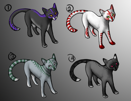 Point Adoptables- Halloween by CalicoTabby