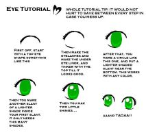 Ms paint eye tutorial by hamster-chan