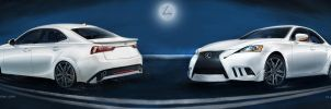 lexus IS 2014 redesign by studiotou
