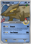 CrocagatorC - Card by Pokemon-Mento