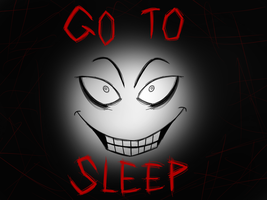 Jeff the killer warm up doodle by BlueRaveMod