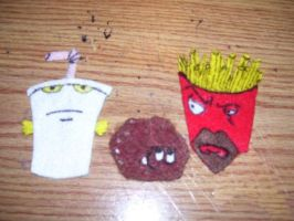 Aqua Teen Hunger Felt by SolracSwag
