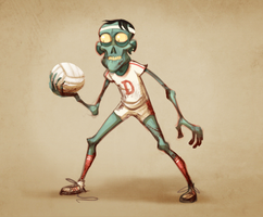 volley to death by skinygalaxier
