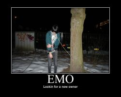 Emo looking for an owner by Subway-Hunters