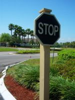 The Black Stop Sign by th3limit