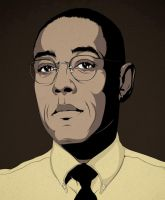 Gus Fring by craniodsgn