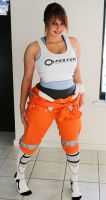 Chell by DLouiseART