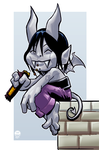 Gargoyle - Chibi Monday Commish by EryckWebbGraphics