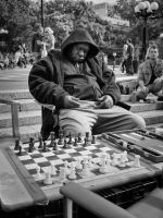 The chess player by PatrickMonnier