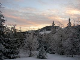 winter in Karkonosze Mountains by pikku-ish