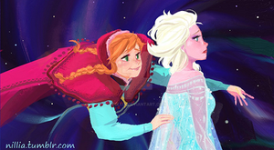 Frozen Close Up  (See Full Image on Tumblr) by nillia
