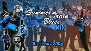 Summer Train Blues Mix Wallpaper by leakypipes