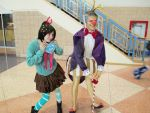 King Candy and Vanellope by eburel506