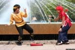 Cosplay - Ranma and Ryoga by TechnoRanma
