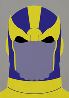T is for Thanos by payno0