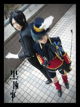 Black Butler ::01 by Cvy