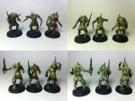 Nurgle Plaguebearers by WellOfEternity