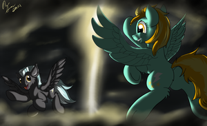 Thunder and Lightning by InkyBeaker