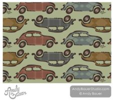 Car Surface Pattern by Art-by-Andy