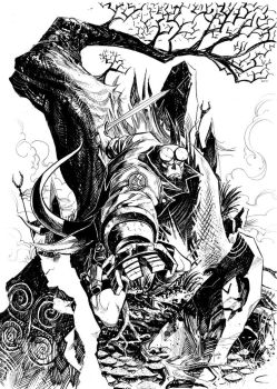 Hellboy commission by JCoelho