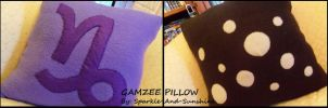 Gamzee Pillow - Homestuck by Sparkle-And-Sunshine