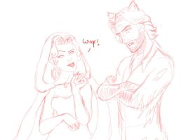 Bigby And Snow by LieutenantFudge