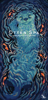 Otter Spa by SylviaRitter