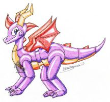 Robot Spyro -G- by Amandaxter
