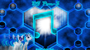 DJ Pon-3 Wallpaper 1920x1080 by forgotten5p1rit