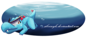 Totodile Banner by ZymonasYH