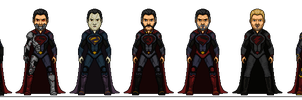 Superman Alternate Redesigns by Melciah1791