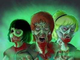 Zombieteers by MudgetMakes