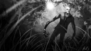 Slenderman v1 by 128Bray