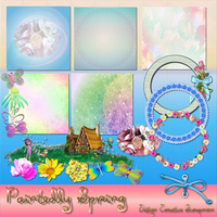 Preview Paintedly Spring by Creativescrapmom